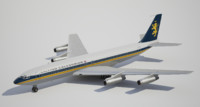 3d boeing british caledonian model