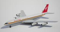 low-poly boeing qantas 3d model