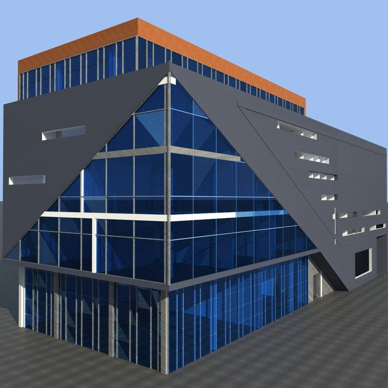 office building obj