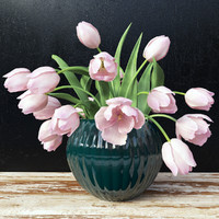 flowers vase tulips 3d model