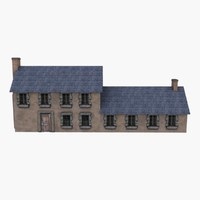 3ds european country house
