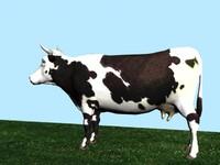 3d model cow