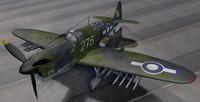 plane fairey firefly mk-1 3d 3ds