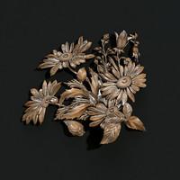 3d carved model