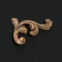 carved 3d model