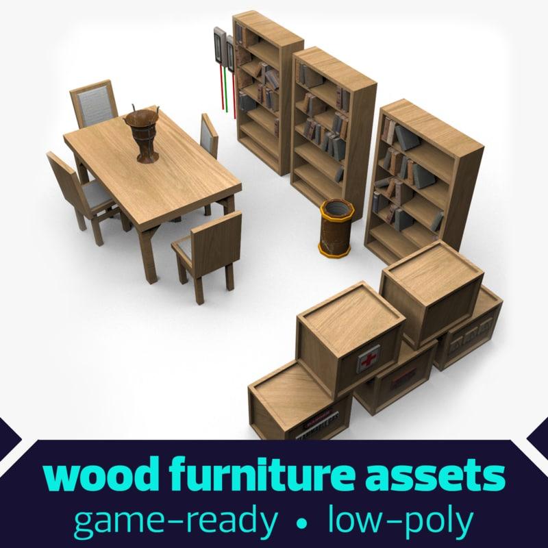 elements crates 3d model