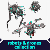 Sci-Fi Robots Collection