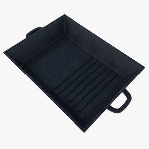 3d model subdivision cast iron grill