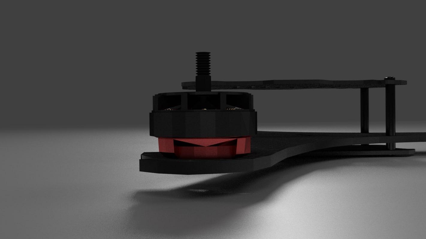 3d motor drone