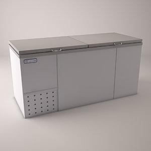 3ds commercial freezer