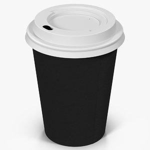 obj coffee cup 12oz takeout