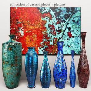 3d vases picture imax model