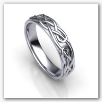 3d model ornament wedding ring 1