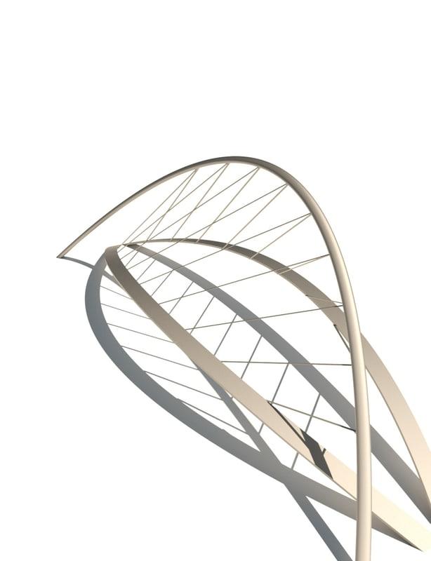 3d dynamo parametric bridge model