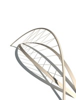 3d dynamo parametric bridge model