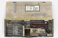 german submachine gun 3d max
