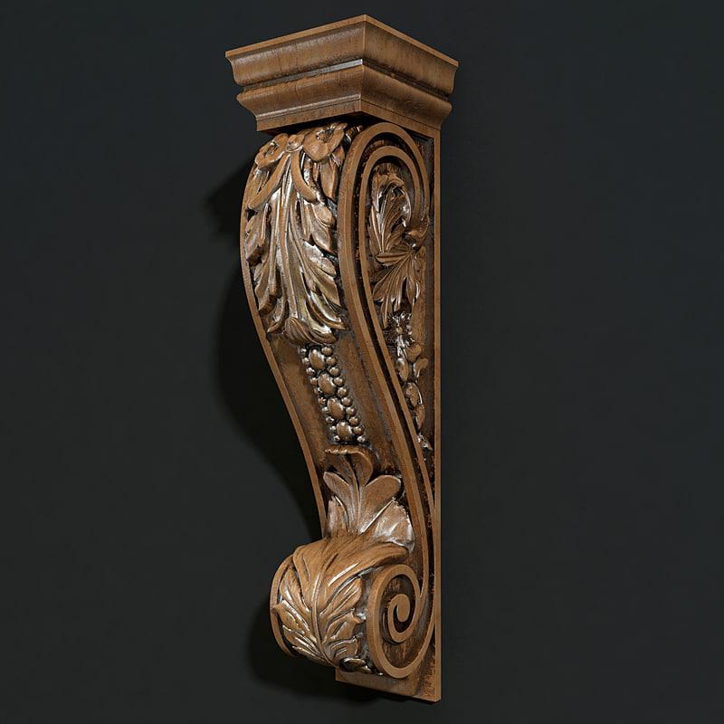 3d model carved