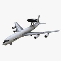 USAF Awacs Boeing E3 Sentry