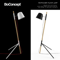 boconcept outrigger floor lamp 3d max