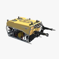3d model remotely operated underwater vehicle