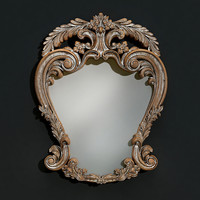 3d model mirror classical