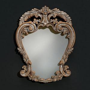3d model mirror classical