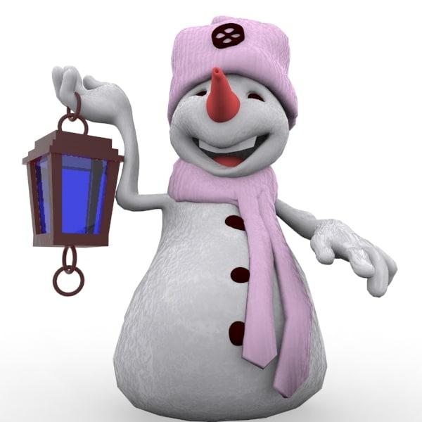 snowman cartoon max