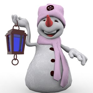 snowman cartoon max