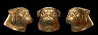 pug head 3d model