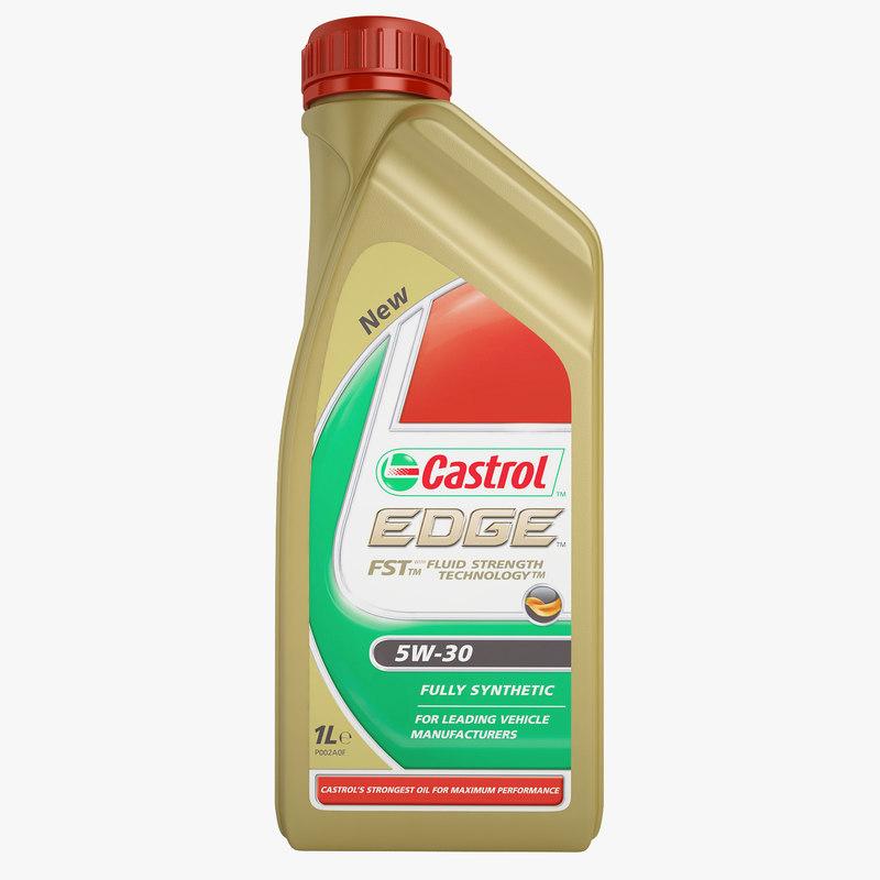 castrol edge 5w-30 3d 3ds