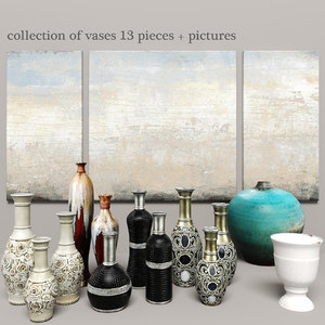 vases pictures designs 3d model
