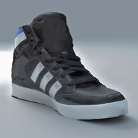 generic hi shoes 3d obj