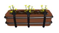 flowerpot windows 3d model