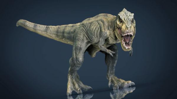 3d model hd tyrannosaurus rex