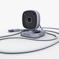 3d model microsoft lifecam vx-800