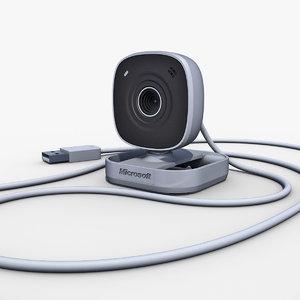 3d model microsoft lifecam vx-800
