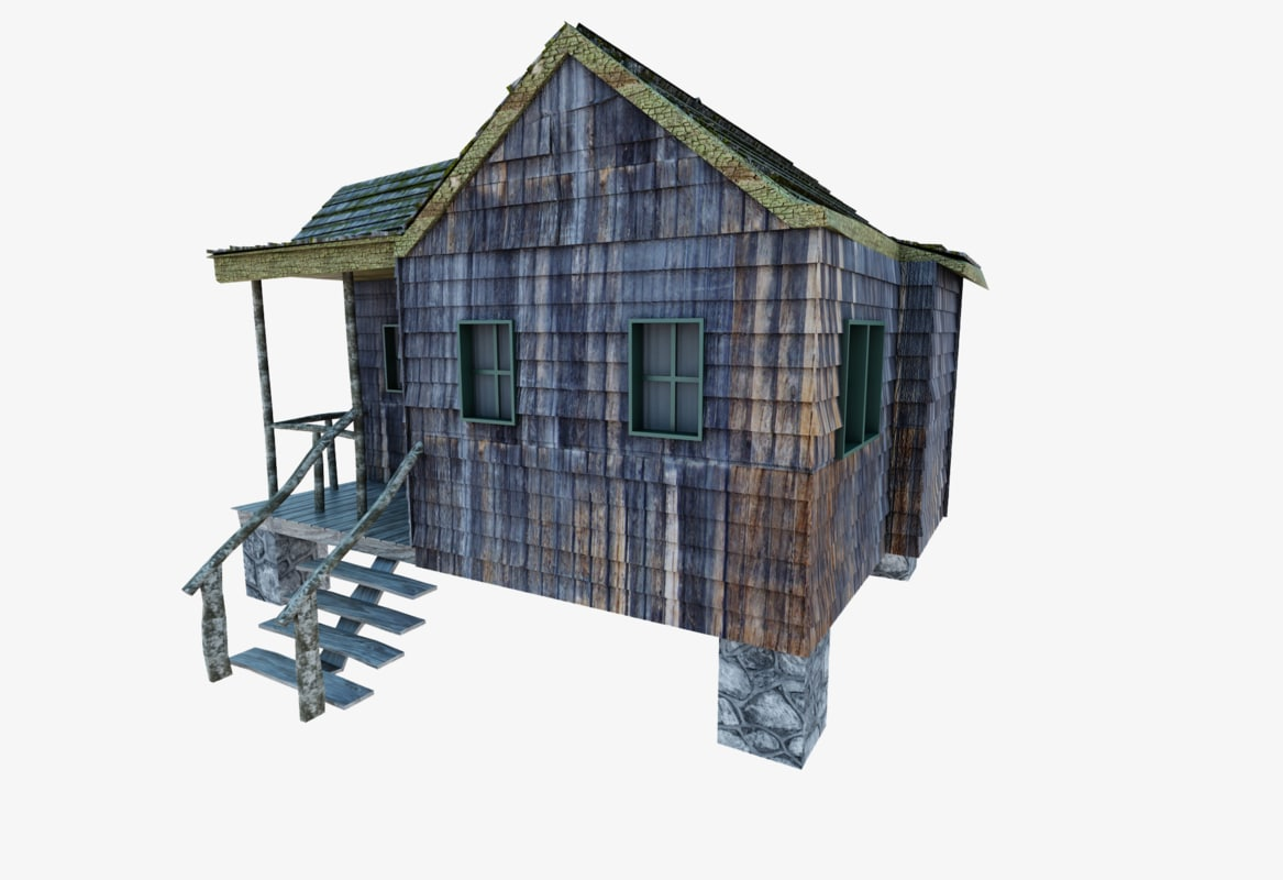 ring house old 3d max