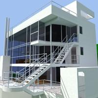 3d model douglas house