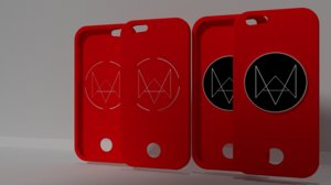 3d iphon 7 case watch