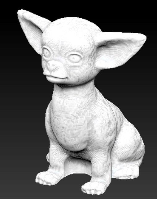 3d model chihuahua