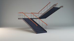 stair 3d 3ds