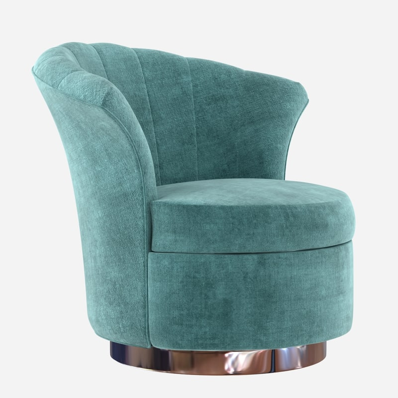 chair custom rounded lounge 3d max