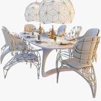 max futuristic dining table