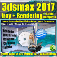 Iray + 3ds max 2017 Rendering Guida Completa Rinnovo Subscription