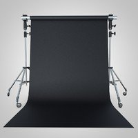 3d backdrop tripod