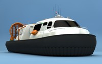 c4d hovercraft craft hover