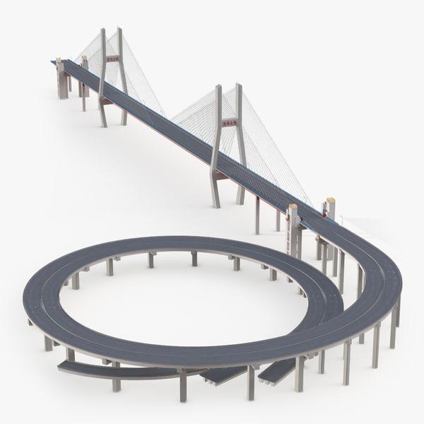 nanpu bridge 3d 3ds