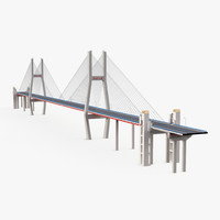 nanpu bridge 2 3d model