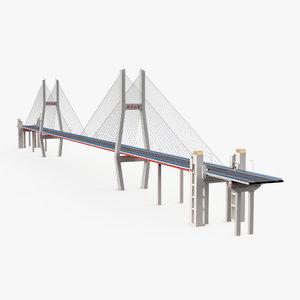 nanpu bridge 2 3d model