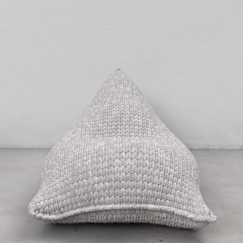 knit beanbag x